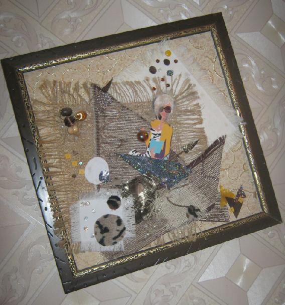 Панно своими руками из подручных материалов на стену