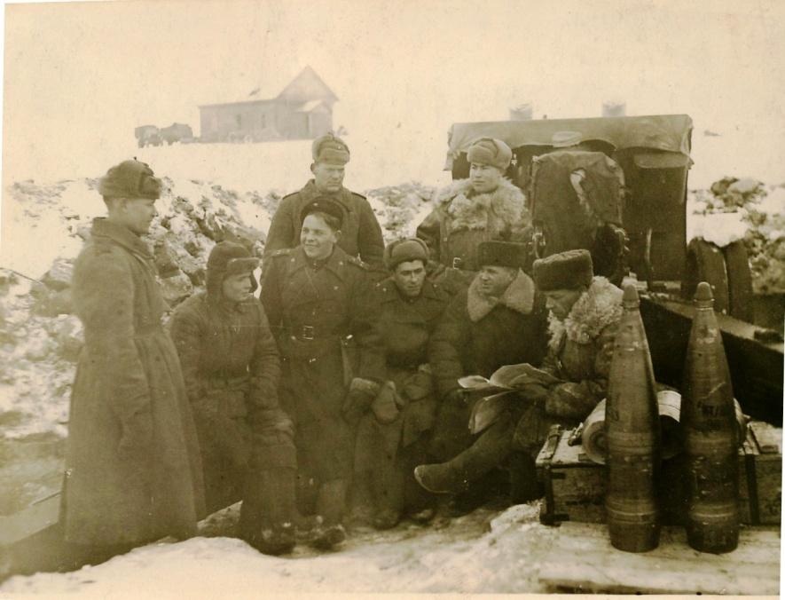 F:\Новая папка\Второй прибалтийский фронт Витебская область Гарадонский район 5 января 1944 засидание партийного бюро 1093 краснознаменного коруса.jpg