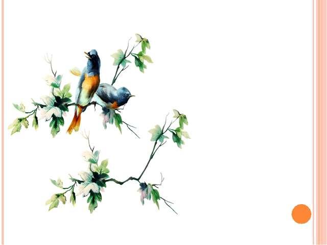 Перед какой погодой птицы перестают петь?