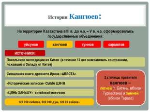История Кангюев: На территории Казахстана в III в. до н.э. – V в. н.э. сформи