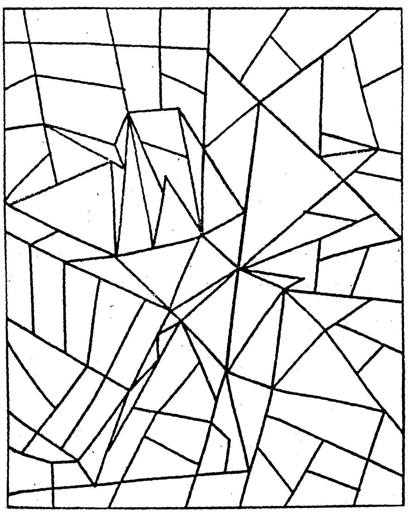 найди треугольники на картинке правило, подобные вопросы