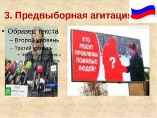 3. Предвыборная агитация