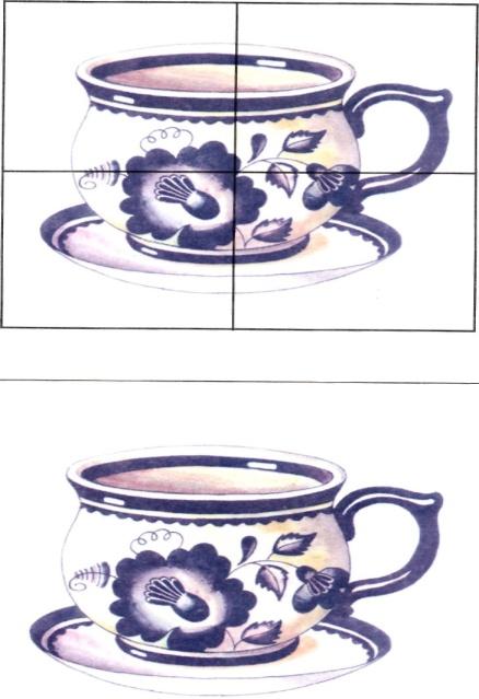 Картинки разрезная посуда