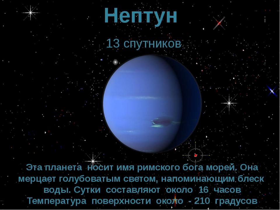 Презентация спутники планет
