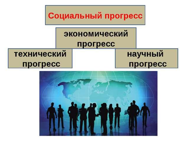 Социальный прогресс экономический прогресс технический прогресс научный прогр...