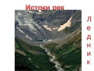 р. Волга р. Терек Ледник