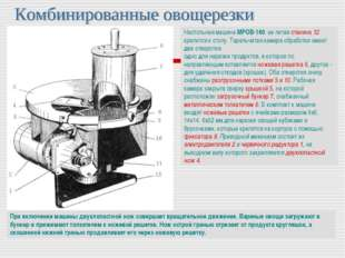 Настольная машина МРОВ-160: ее литая станина 12 крепится к столу. Тарельчатая