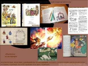 В зависимости от размера и расположения в книге иллюстрации подразделяются на