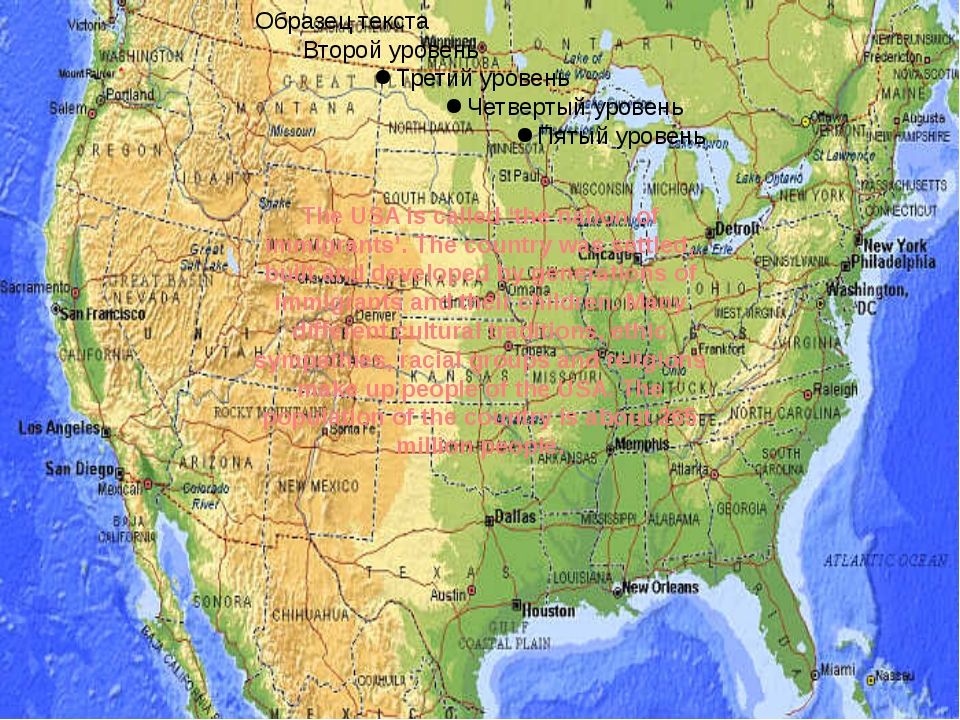 The USA is called 'the nation of immigrants'. The country was settled, built...