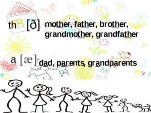 th a dad, parents, grandparents mother, father, brother, grandmother, grandf
