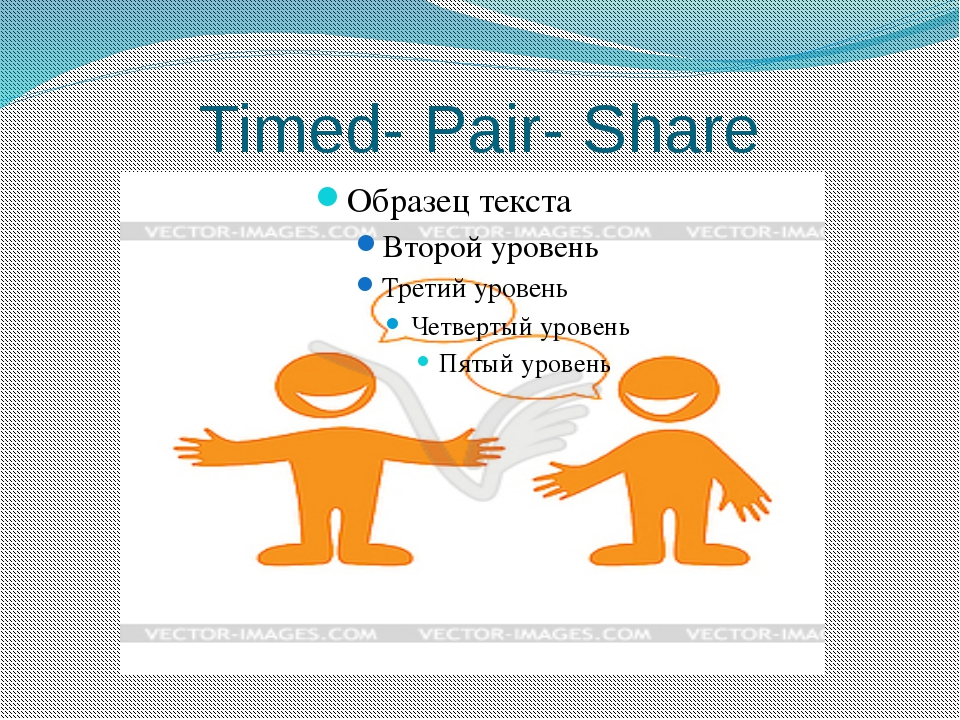 Timed- Pair- Share