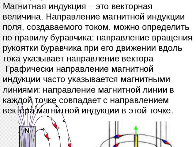 Характеристика магнитного поля, определяющая силу действия магнитного поля, н...