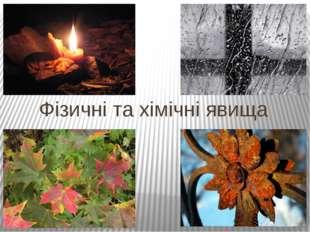 помітки на полях Всі зміни, що в природі та світі трапляються, називаються ЯВ