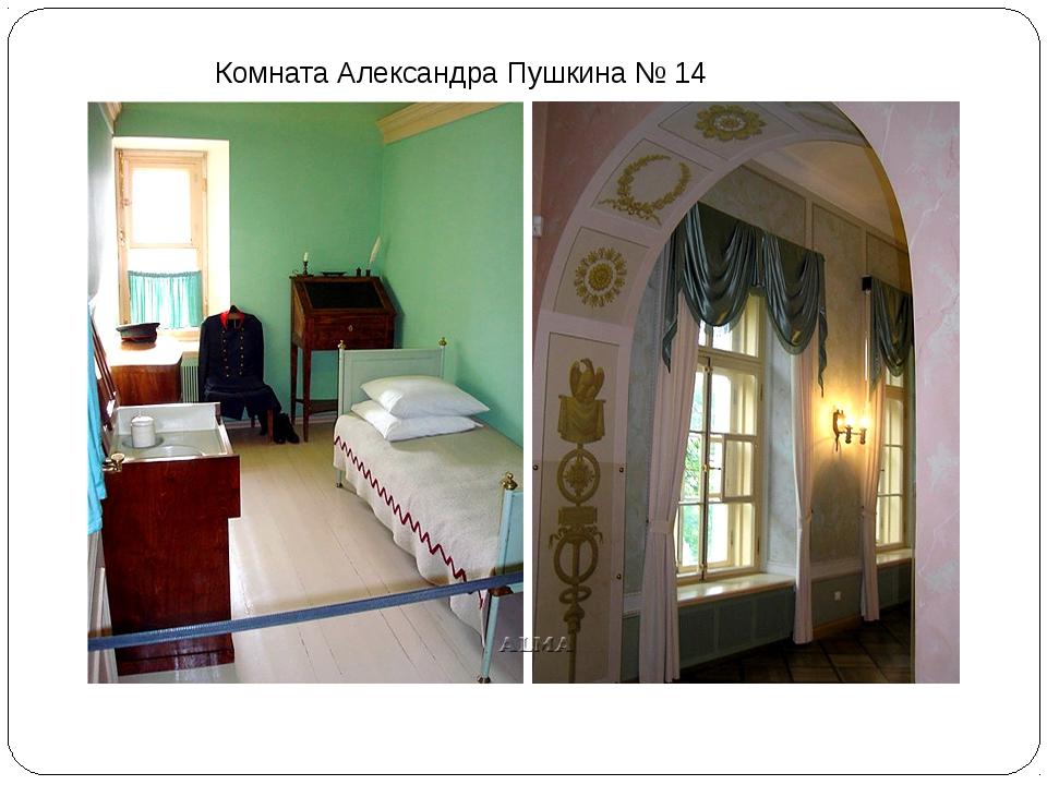 Комната Александра Пушкина № 14