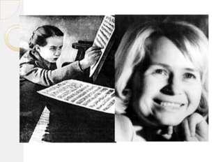Молодой композитор Александра Пахмутова В архивах консерватории сохранилась к
