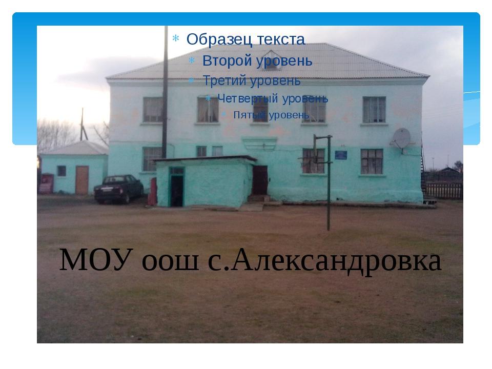 школа МОУ оош с.Александровка
