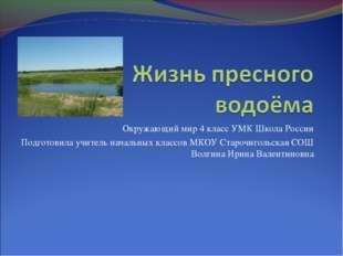 Окружающий мир 4 класс УМК Школа России Подготовила учитель начальных классов