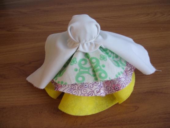 Изготовление тряпичных кукол мастер класс
