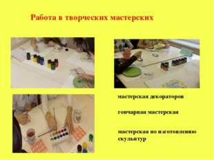 мастерская декораторов гончарная мастерская мастерская по изготовлению скуль