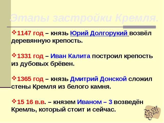 Москва На окраине Владимиро – Суздальской земли возникло небольшое поселение...