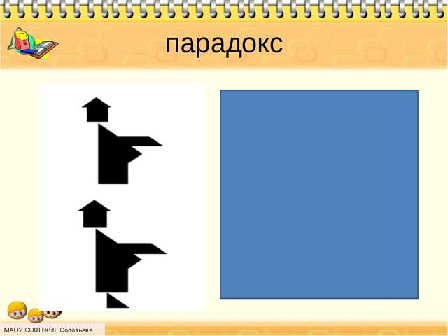 парадокс МАОУ СОШ №56, Соловьева Н.Л.