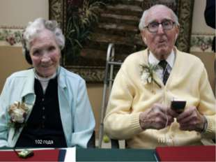 102 года 110 лет