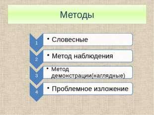 Методы 3