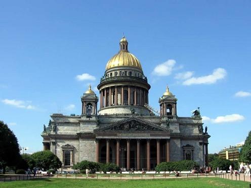 Экскурсия в Исаакиевский собор Санкт-Петербурга