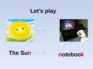 Let's play The Sun notebook
