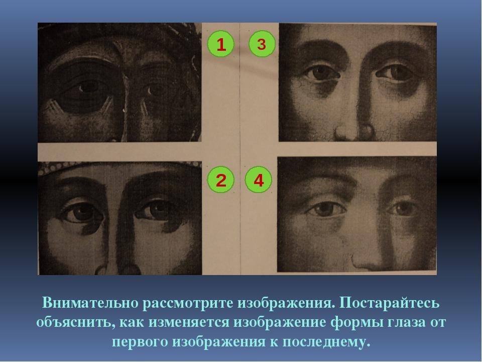 1 4 3 2 Внимательно рассмотрите изображения. Постарайтесь объяснить, как изме...