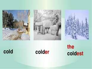 colder the coldest cold