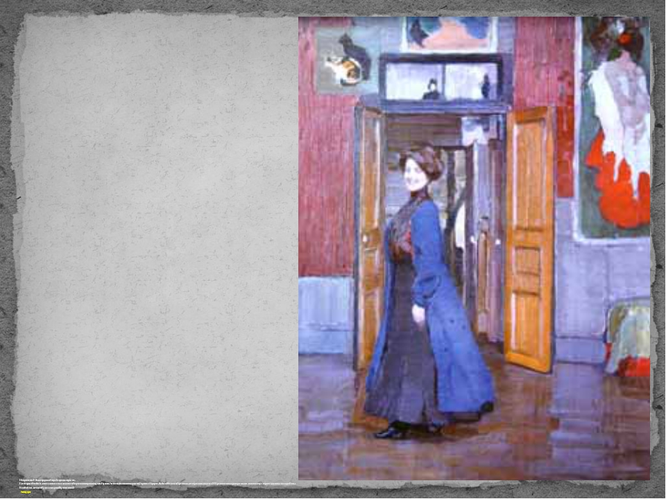 После революции 1917 года эмигрировала в Белград. Там продолжала работать. Ел...