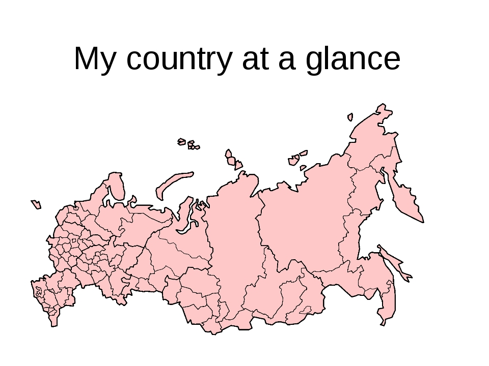 My country at a glance