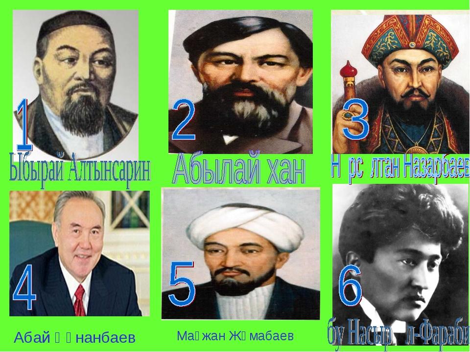 Мағжан Жүмабаев Абай Құнанбаев