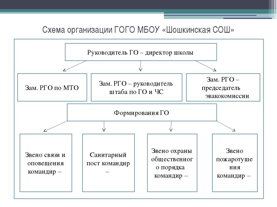 слайда 5 Схема организации