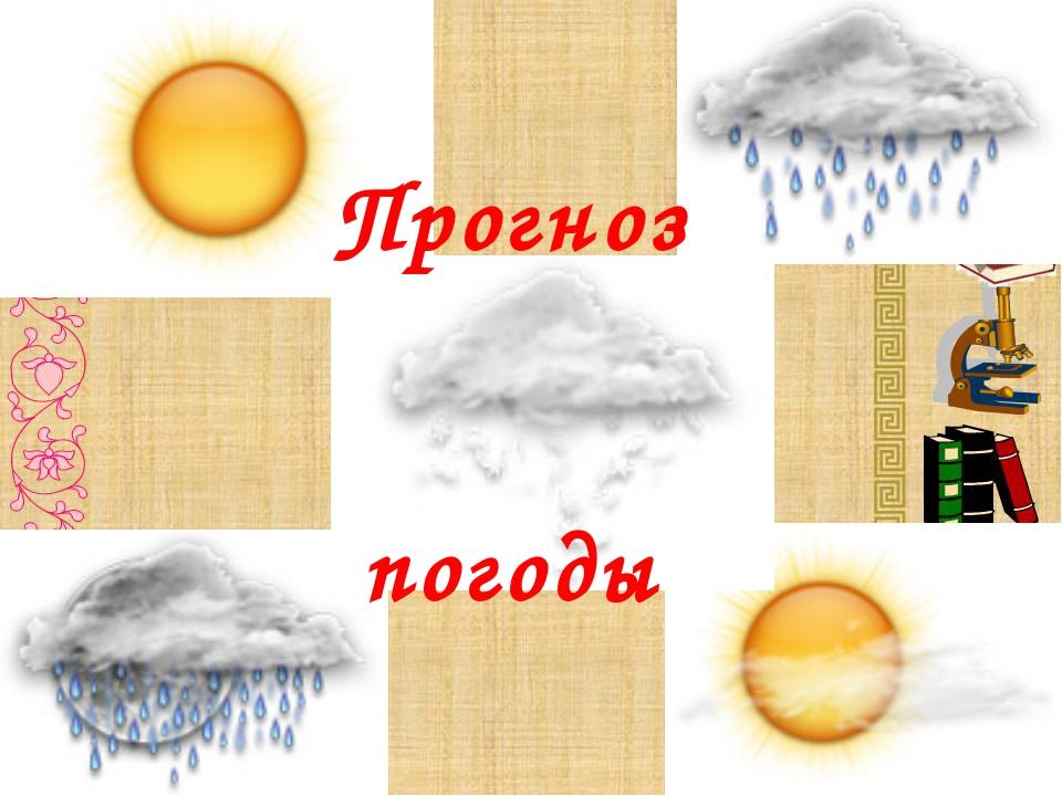 пр Прогноз погоды