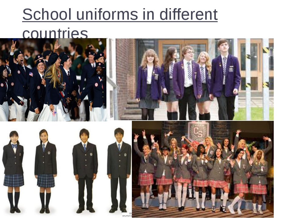 School uniforms in different countries