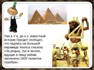 Уже в V в. до н.э. известный историк Геродот сообщил, что надпись на большой