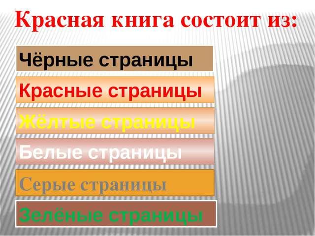 Чёрные страницы Красные страницы Жёлтые страницы Белые страницы Зелёные стран...