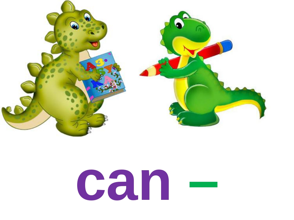 can – can't