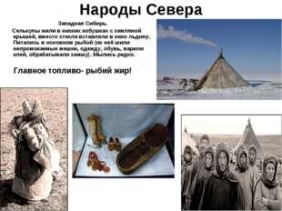 Народы Севера Западная Сибирь. Селькупы жили в низких избушках с земляной кры