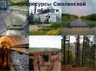 АТОМНАЯ ЭНЕРГЕТИКА ТЕПЛОВЫЕ СТАНЦИИ ГИДРОРЕСУРСЫ УГОЛЬ ТОРФ ДРОВА Энергоресур