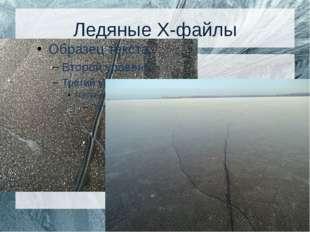 Ледяные Х-файлы