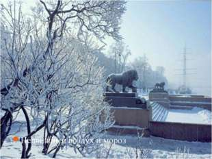 Недвижный воздух и мороз