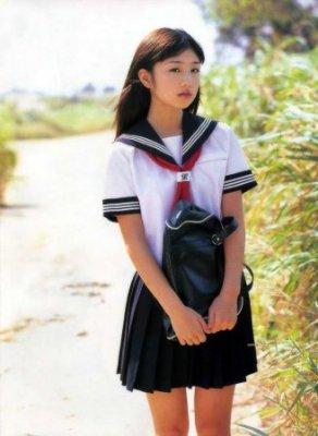 мода на форму Япония