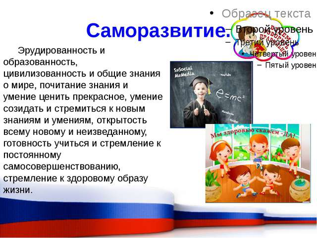 Саморазвитие. Эрудированность и образованность, цивилизованность и общие знан...