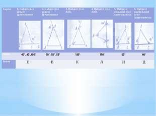 Задача 1. Найдите все углы втреугольнике  2. Найдите все углы в треугольнике