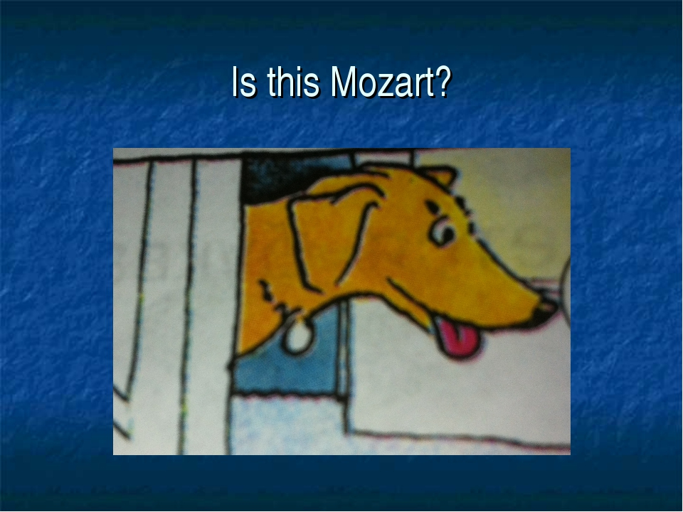 Is this Mozart?