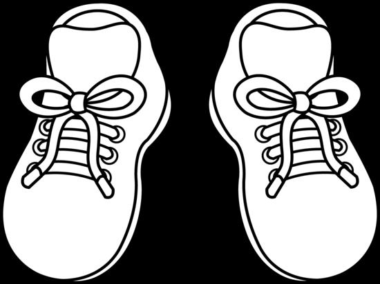 Раскраска ботинки Детские раскраски, распечатать, скачать