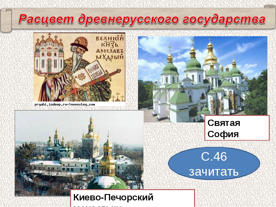 С.46 зачитать Святая София Киево-Печорский монастырь